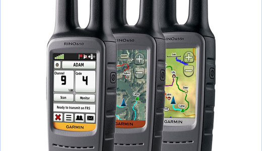 """The redesigned Garmin's Rino® 610, 650 and 655t boast up to a 20-mile communication range, a barometric altimeter, 3-axis tilt compensated compass and NOAA weather radio. The GPS-enabled handheld two-way radios also include a 2.6"""" glove-friendly touchscreen and are expected to be available in the third quarter of 2011. The […]"""