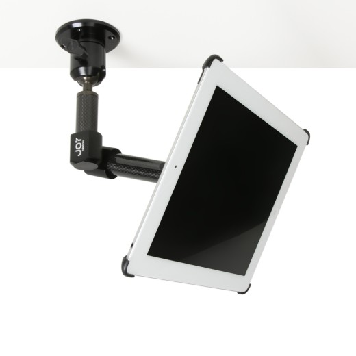 Tournez Retractable Carbon Fiber iPad 2 Wall and Clamp Mounting Systems