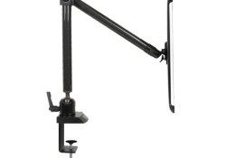 The Tournez Retractable Carbon Fiber iPad 2 Wall/Cabinet Mount and the Clamp Mounting systems each feature a 360-degree angle that adjusts to facilitate landscape or portrait viewing. The easy-to-install wall, cabinet or flat surface application allows for maximum versatility in the kitchen, the garage, office and numerous other locations. The […]