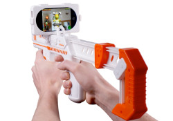 Priced at just £19.99, the appBlaster is available to buy from www.red5.co.uk. Designed to work with the augmented reality (AR) app, Alien Attack, the blaster demolishes aliens invisible to the naked eye. The AR feature of the game means that the alien invasion will be coming straight at you from […]