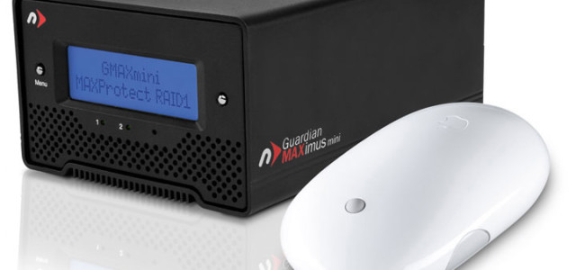 """NewerTech announced its new Guardian MAXimus mini Portable RAID. The new $299.99 MSRP model provides 1.0TB hardware RAID-1 redundancy for a MAXProtect """"mirrored"""" copy of data or a 2.0TB RAID-0 mode for MAXPerform speed and a """"Quad Interface"""" of FireWire 800/400, USB 2.0, & eSATA connections to offer Mac and […]"""