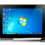 IdeaPad Tablet P1 with Windows 7