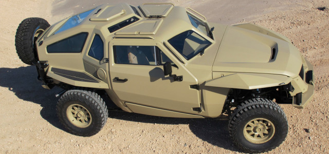 Dassault Systèmes announced that it has teamed with Local Motors to deliver the first co-created military vehicle that could support two types of missions – Combat Reconnaissance and Combat Delivery & Evacuation. The winning vehicle went from concept to working prototype in less than six months.