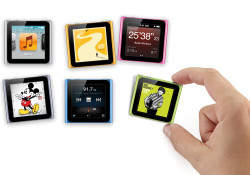 Starting at just $129 and features a redesigned user interface with larger icons for even easier navigation, the new iPod nano also sports 16 new digital clock faces, and improved built-in fitness features. Available in seven colors, iPod nano now tracks your runs with no accessory required. It also can […]