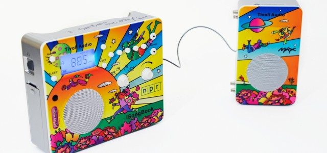 In honor of NPR's 40th anniversary, iconic artist Peter Max has designed special limited editions of Tivoli Audio's SongBook and iSongBook radios. Both offer superior sound quality, a digital alarm, a rubberized weatherproof cabinet, and can run for hours on a rechargeable battery. The portable SongBook can serve as a […]