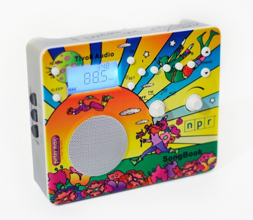 Tivoli Audio Peter Max radios for NPR