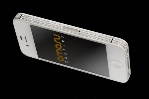 Swarovski iPhone 4S from Amosu Couture
