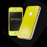 Coloured iPhone 4S - Sunshine Yellow