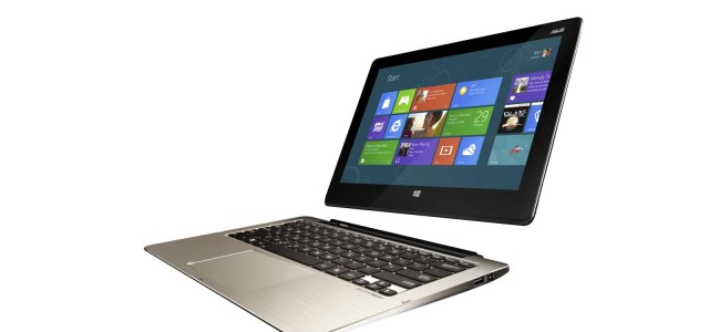 Along with AiO and tablet, ASUS also announced new ultrabook at Computex 2012: the Transformer Book. Mentioned as the first convertible ultrabook in the market, this device allows users to instantly switch between an ultrabook and a tablet by simply detaching the screen from the full-size QWERTY keyboard.