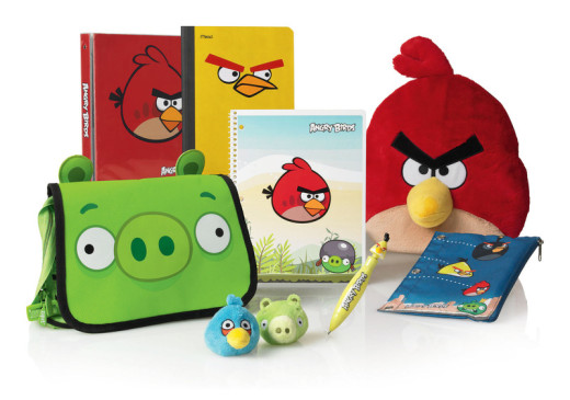 Angry Birds Back to School
