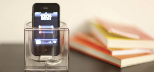 KC Lee created Cube project to give a smartphone its own space like our homes. He wanted something more than conventional looking dock available in market today. The dock can do more than just charging mobile device, it's also intuitive and simple.