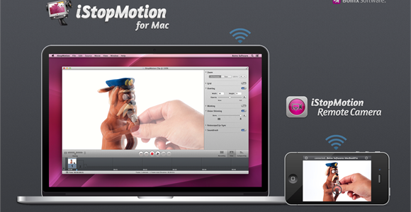 iStopMotion 3 for Mac allows you to create HD movies using an iPhone, iPad or iPod touch as a camera, thanks to the free iStopMotion Remote Camera app. Available for just 29.99 USD (limited-time-only ), its new look is fully optimized for the MacBook Pro's riveting new Retina display, and […]