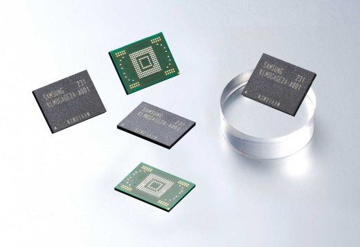 128GB  Embedded NAND Storage