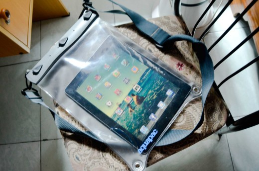 AQUAPACK waterproof housing for iPad