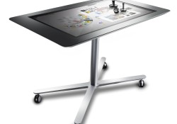 """IdeaCentre Horizon Table PC is Lenovo's first """"interpersonal PC,"""" a multi-user, multi-touch, multi-mode device for the home that allows users to turn their personal computing experience into a shared computing experience. If you're curious how the device works, you can visit CES 2013 where the company showing off its 39-inch […]"""