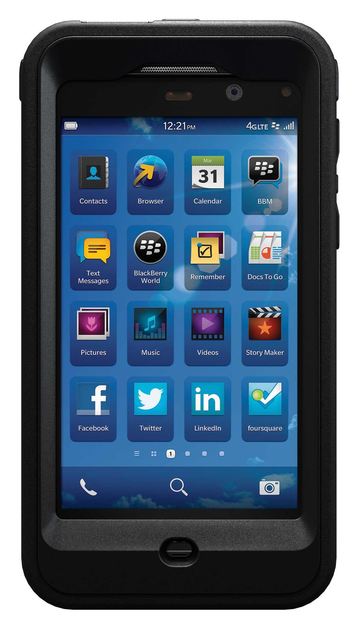 Otterbox Case For Blackberry Z10 Smartphone Q10 4g Lte
