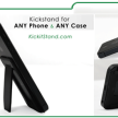 Kick-it Cellphone and Tablet Multi Function Stand and Grip Kit