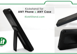 Kick-it is the ultimate, multifunction cellphone and tablet accessory. It is the lightest and thinnest STAND or STICK solution available and can be easily removed and reused. You can stand or stick to any Phone, any Case and any Surface. Great for GPS, Watching Movies, Hands-free use, Video Chat, Games […]