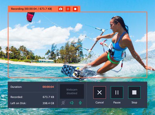 Capturing Streaming Video Using Movavi Screen Recorder