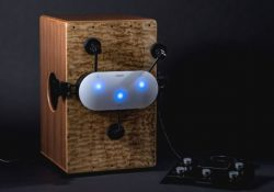 Cabot is a percussion robot that plays the cajon, the wooden box drum originally from Peru and now seen all over the world. Cabot is not a robot to be simply gawked at. It is a robot that you have a great time playing music together with. Cabot's crowdfunding campaign […]